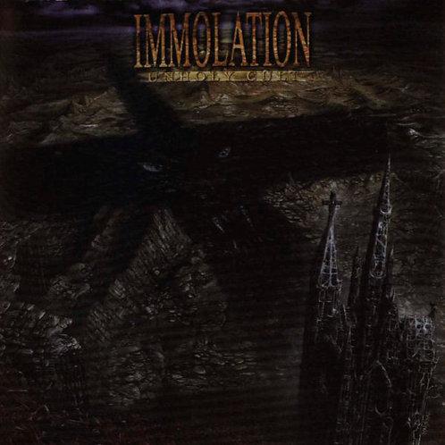 CD Immolation - Unholy Cult - Importado - Lacrado