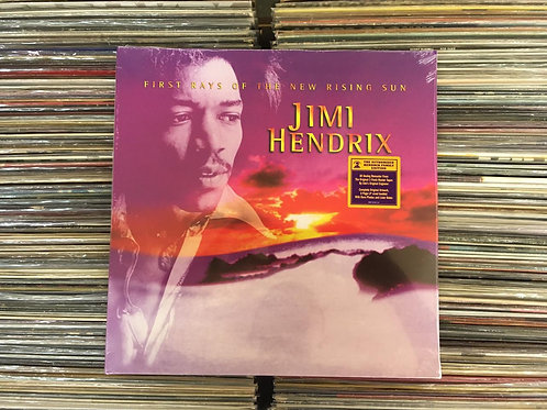 LP Jimi Hendrix - First Rays Of The New Rising Sun - Imp - Duplo - Lacrado