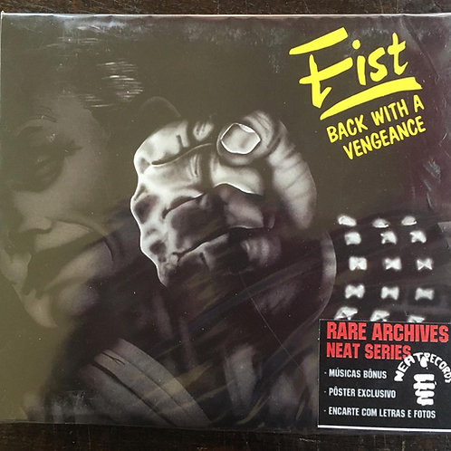 CD Fist - Back With A Vengeance - Bônus + Pôster - Lacrado