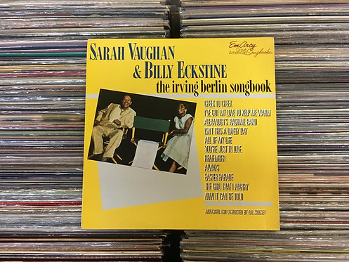 LP Sarah Vaughan & Billy Eckstine - The Irving Berlin Songbook