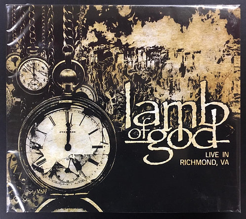 CD Lamb Of God - Live In Richmond, VA - CD + DVD - Lacrado