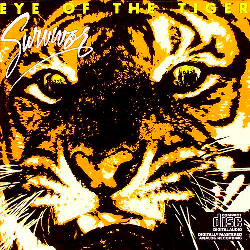 CD Survivor - Eye Of The Tiger - Importado - Lacrado