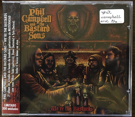 CD Phil Campbell And The Bastard Sons - We're The Bastards