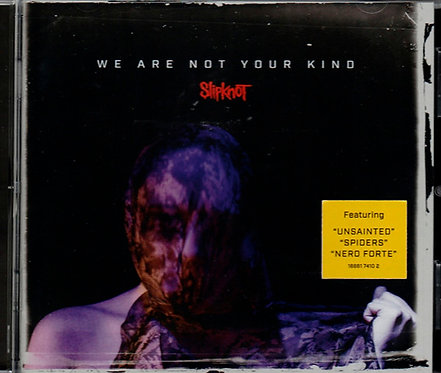 CD Slipknot - We Are Not Your Kind - Lacrado