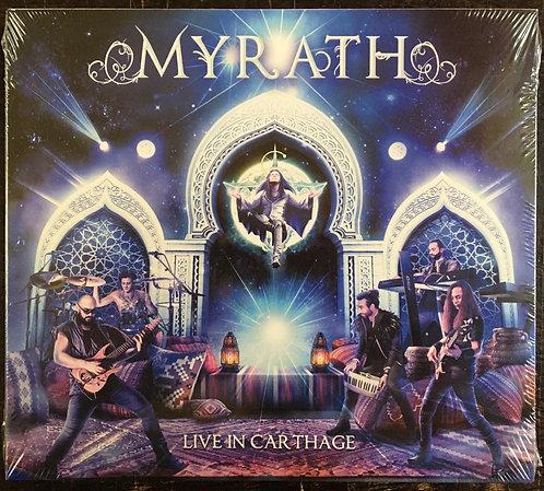 CD + DVD Myrath - Live In Carthage - Digipack - Lacrado
