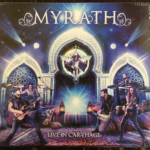 CD + DVD Myrath - Live In Carthage - Digipack - Lacrado