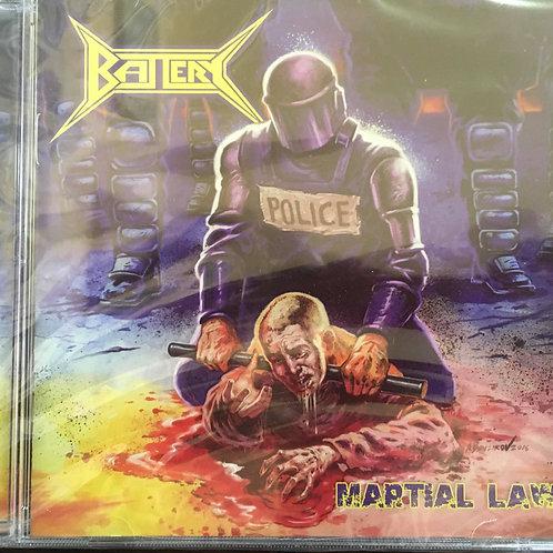 CD Battery - Martial Law - Importado - Lacrado