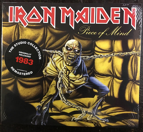 CD Iron Maiden - Piece Of Mind - Digipack - Lacrado