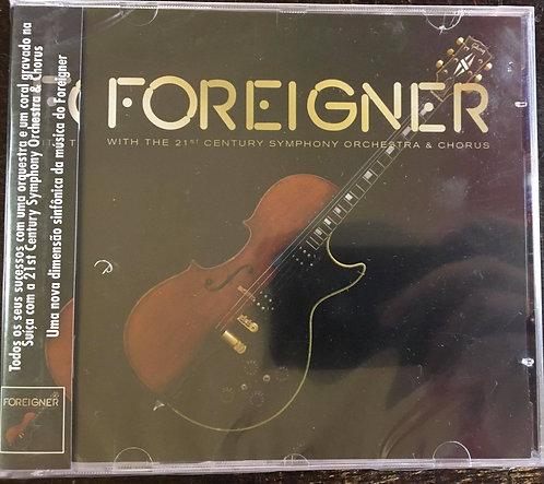 CD + DVD Foreigner With 21st Century Symphony Orchestra & Chorus - Lacrado