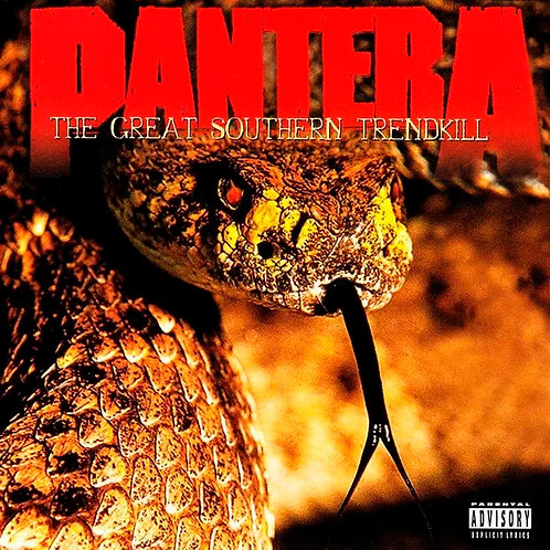 CD Pantera - The Great Southern Trendkill - Lacrado