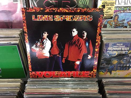 LP The Lime Spiders - Volatile - Importado - Com Encarte