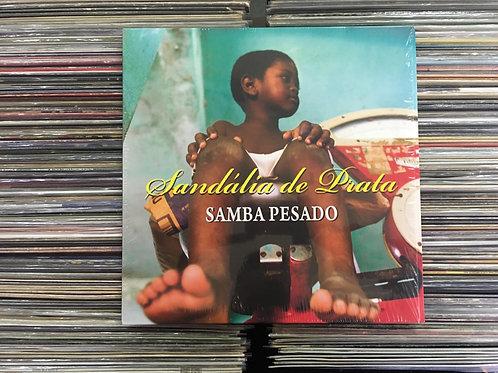 LP Sandália De Prata - Samba Pesado - Vinil Vermelho