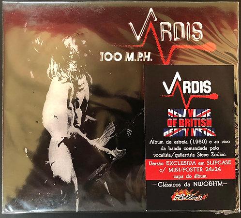 CD Vardis - 100 M.P.H. - Slipcase - Lacrado