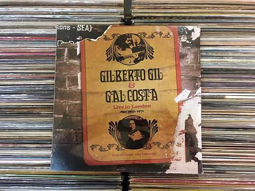 LP Gilberto Gil & Gal Costa - Live In London - Triplo - Lacrado