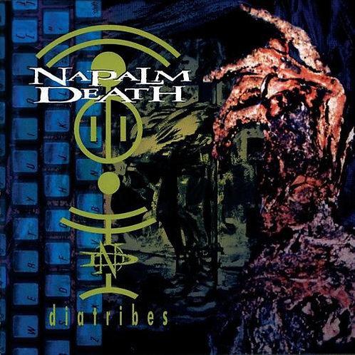 CD Napalm Death - Diatribes - Lacrado