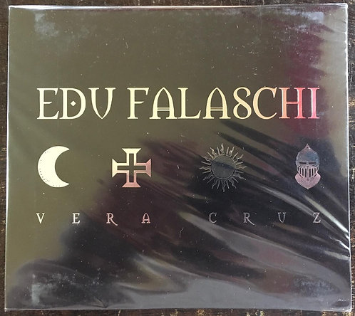 CD Edu Falaschi - Vera Cruz - Slipcase - Lacrado