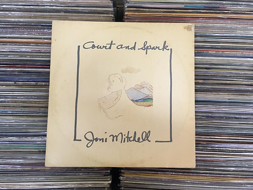 LP Joni Mitchell - Court And Spark - Com Encarte