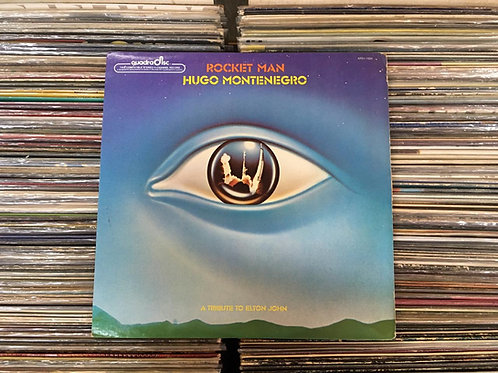 LP Hugo Montenegro - Rocket Man - (Tribute To Elton John) - Importado