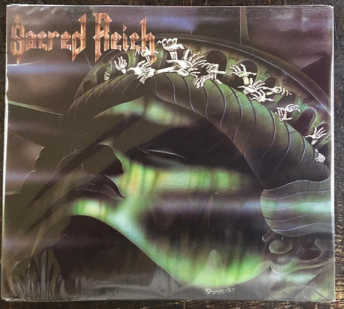 CD Sacred Reich - The American Way - Slipcase - +Mini Poster