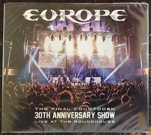 CD Duplo + Dvd Europe - The Final Countdown 30th Anniversary - Lacrado