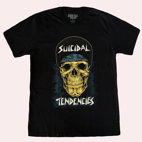 Camiseta Suicidal Tendencies - Skull - Brutal