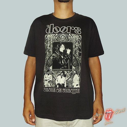 Camiseta The Doors - Break On Through - Stamp