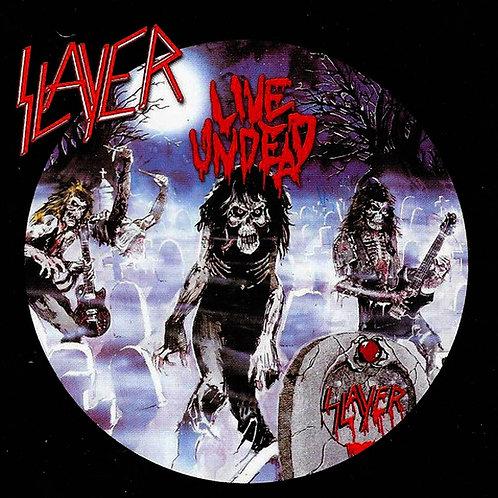 CD Slayer - Live Undead - Importado - Lacrado