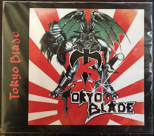 CD Tokyo Blade - 1983 - +Bônus - Slipcase - Lacrado