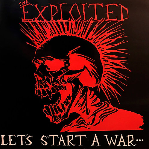 CD The Exploited - Let's Start A War... Said Maggie One Day - Lacrado