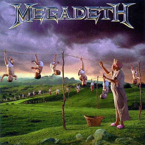 CD Megadeth - Youthanasia - Importado - Lacrado