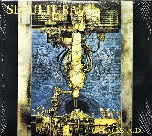 CD Sepultura - Chaos A.D. - Duplo - +Bônus - Digipack- Lacrado
