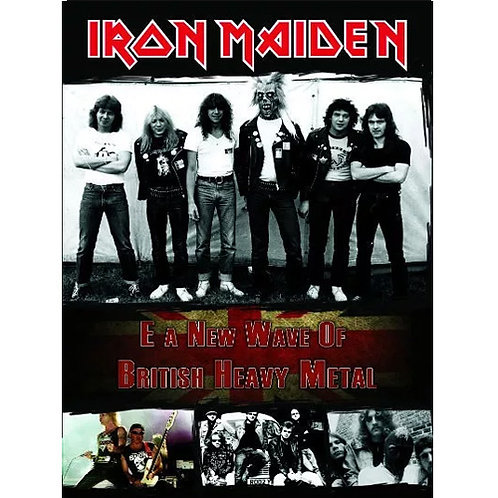 DVD Iron Maiden E A New Wave Of British Heavy Metal - Lacrado