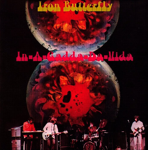 CD Iron Butterfly - In-A-Gadda-Da-Vida - Importado - Lacrado