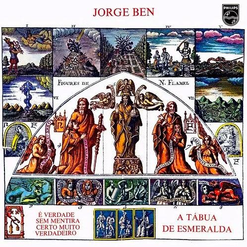 CD Jorge Ben - A Tábua De Esmeralda - Lacrado