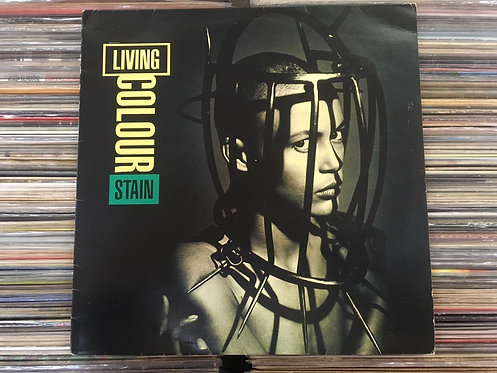 LP Living Colour - Stain - Com Encarte