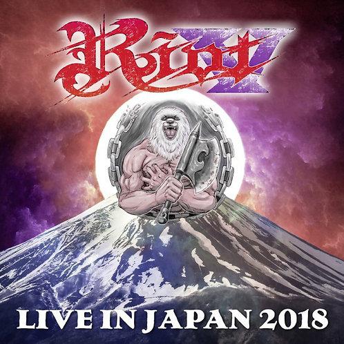 2 CDs + DVD Riot - Live In Japan 2018 - Digipack - Lacrado