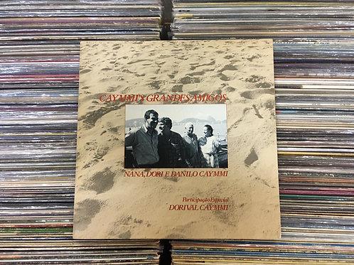 LP Caymmi's Grandes Amigos - Nana, Dori E Danilo - C/Encarte