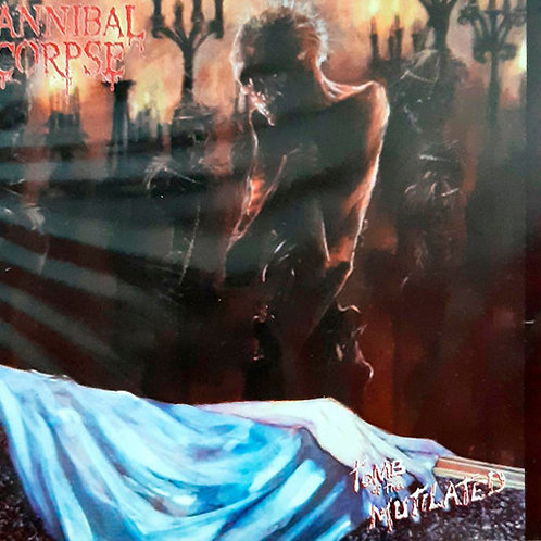 CD Cannibal Corpse - Tomb Of The Mutilated - Slipcase - Lacrado