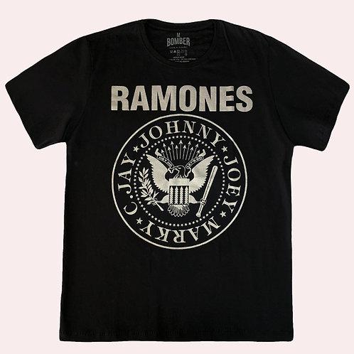 Camiseta Ramones - Símbolo - Bomber