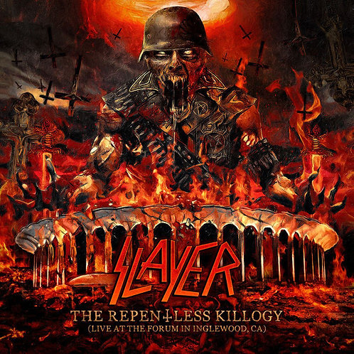CD Slayer - The Repentless Killogy - Live at The Forum in Inglewood, CA - Duplo