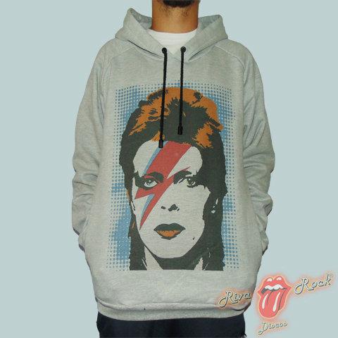 Moletom David Bowie - Aladdin Sane - Bomber