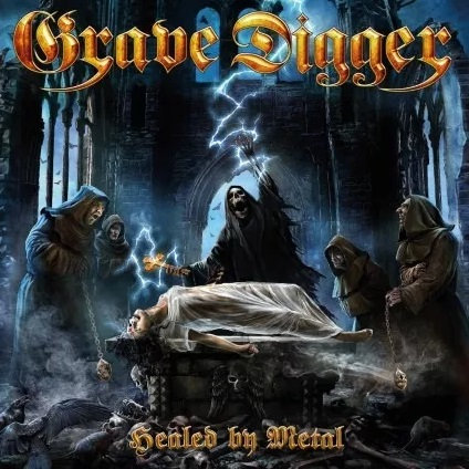 CD Grave Digger - Healed By Metal - Lacrado