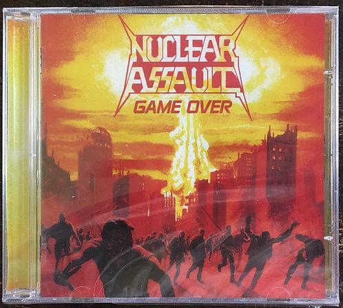 CD Nuclear Assault - Game Over - Importado - Lacrado