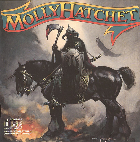 CD Molly Hatchet - Molly Hatchet - Importado - Lacrado