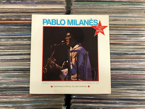 LP Pablo Milanés - Ao Vivo No Brasil - C/ Encarte