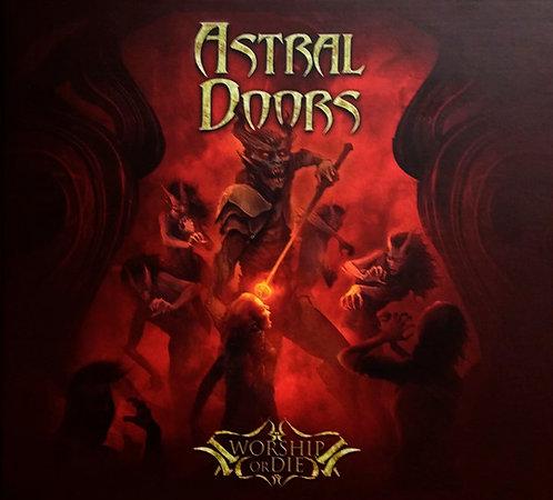 CD Astral Doors - Worship Or Die - Lacrado