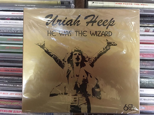 CD Uriah Heep - He Was The Wizard - (Sêxtuplo) - Importado - Lacrado