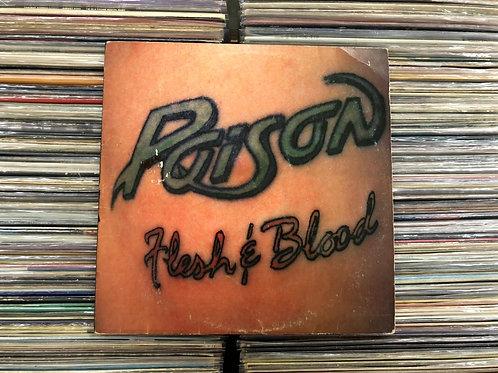 LP Poison - Flesh & Blood - Com Encarte
