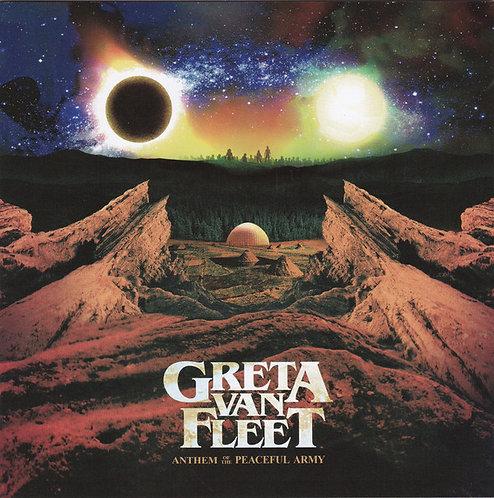 CD Greta Van Fleet - Anthem Of The Peaceful Army - Lacrado