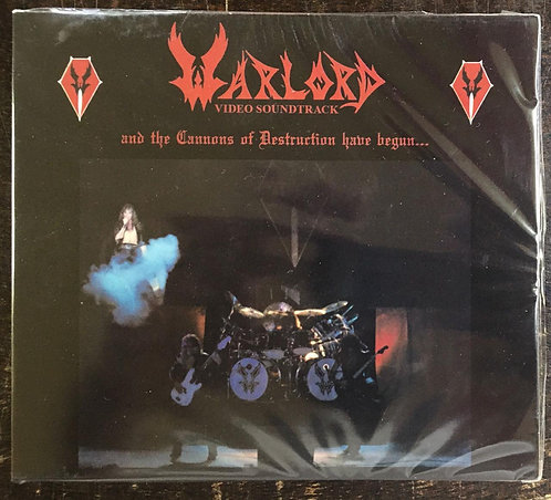 CD Warlord - And The Cannons Of Destruction Have Begun... - Slipcase - Lacrado